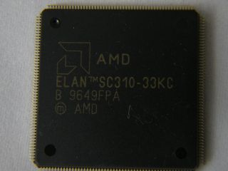 ELAN-SC310 SINGLE CHIP 32 BIT PC/AT MICROCONTROLLER ELANSC310-33K 2