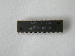 MT5C6404-20 B 16K X4 SRAM DIP22