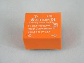 ZPD03S500W AC/DC 3W ING, 100-240VAC OUT 5V