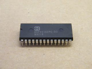 HSP45102PC-33 NUMERICALY CONTROLLED OSCILLATOR