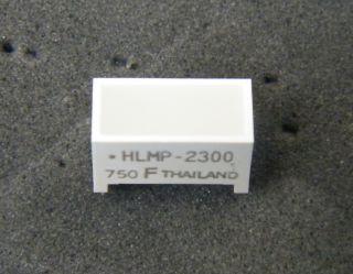 HLMP2300 AVAGO RED LED BAR