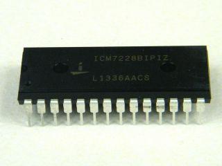 ICM7228B 8 DIGIT COMMON ANODE DISPLAY DRIVER ICM7228BIPIZ DIP28