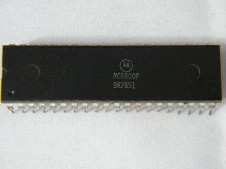 MC6800 MOTOROLA 8 BIT MPU