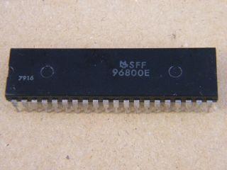 SFF96800E 8 BIT MPU 6800 FAMILY