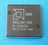 N80L286-16/S AMP PLCC68 CPU 80286