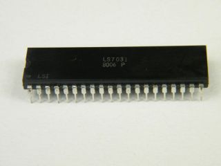 LS7031 6 DECADE COUNTER LSI DIP40