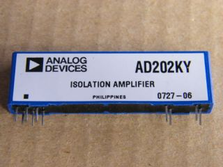 AD202KY ANALOG DEVICES INSULATION AMPLIFIER