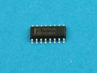 74HCT4094D SO16 8 BIT SHIFT REGISTER