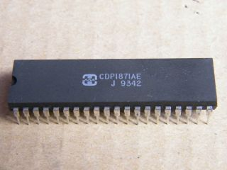 CDP1871AE HARRIS CMOS KEYBOARD DECODER
