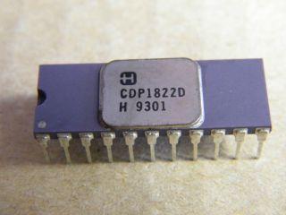 CDP1822D HARRIS 256X4 STATIC RAM DIP22