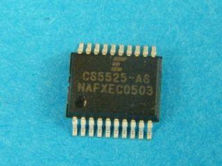 CS5525AS 16-Bit/20-Bit Multi-Range ADC with 4-Bit Latch