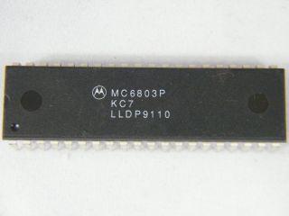 MC6803P MOTOROLA CPU DIP40