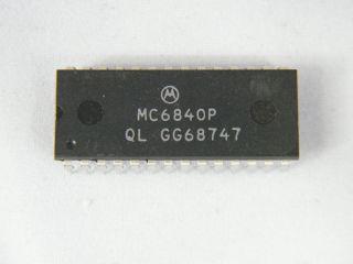 MC6840P MOTOROLA PROGRAMMABLE TIMER