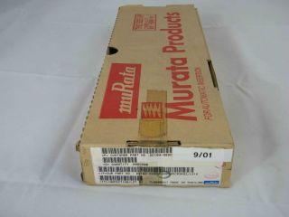 BOX 2000PZ  CERAMICO DISCO 10PF  50V NPO  MURATA DD104-989CH100 10P
