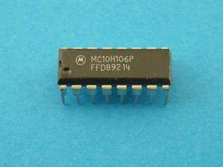 MC10H106P MOROROLA MECL TRIPLE NOR GATE DIP16
