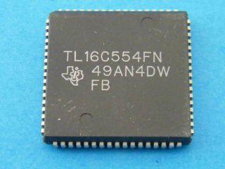 TL16C554FN TEXAS INTRIMENTS PLCC68