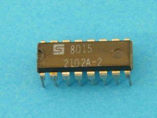 2102A2 SIGNETIC 1024X1 SRAM DIP16