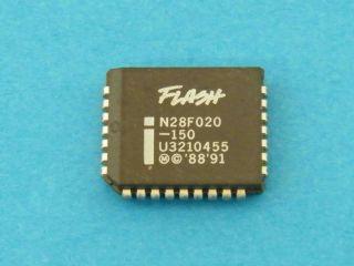 N28F020-150 256Kx8 EEPROM 150NS PLCC32 INTEL