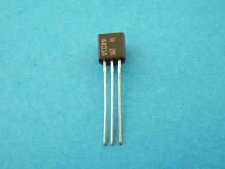 2N4403 TRANSISTOR PNP 60V 600MA TO92 ON SEMICONDUCTOR