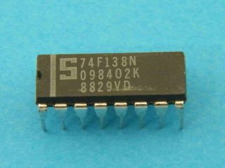74F138N LOGIC IC SIGNETICS  DIP16
