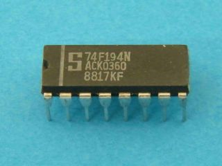 74F194N LOGIC IC SIGNETICS DIP16