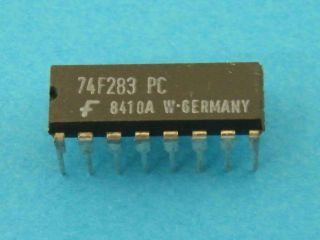 74F283PC LOGIC IC FAIRCHILD  DIP16
