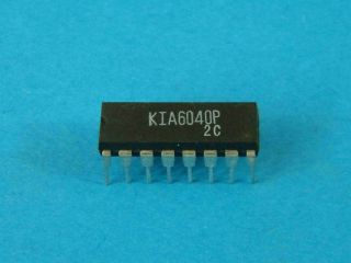 KIA6040P JAPAN IC DIL16