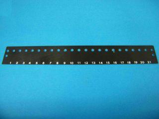 Numerazione morsettiera MOR21ET (per morsettiera 21 poli MOR21/90)