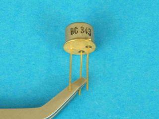 BC343 PNP transistor TO39