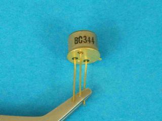 BC344 NPN transistor TO39