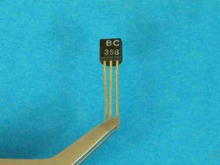 BC358 NPN transistor TO92