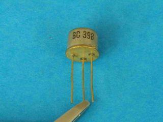 BC398 NPN transistor TO39