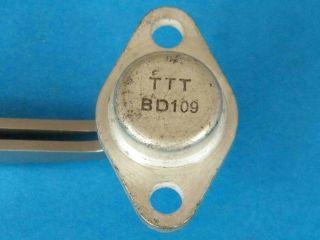 BD109 NPN transistor SOT9