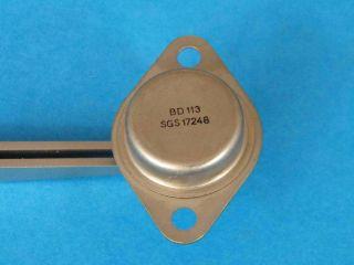 BD113 NPN transistor TO3