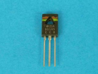 BD185 NPN transistor TO126