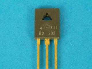 BD208 PNP transistor TO127