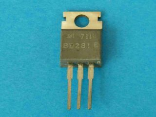 BD281 NPN transistor TO220
