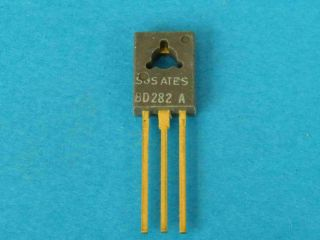 BD282A PNP transistor TO126