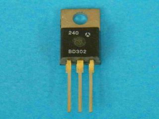 BD302 PNP transistor TO220
