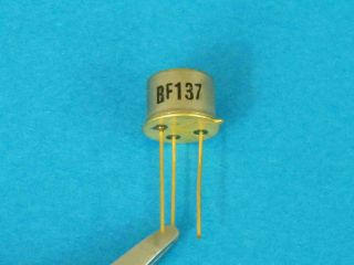 BF137 NPN transistor TO39