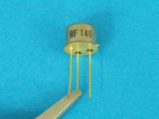 BF140 NPN transistor TO39