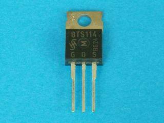 BTS114 N-channel TEMPFET TO220