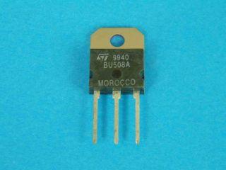 BU508A NPN transistor TO218