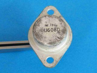 BU608D NPN transistor TO3