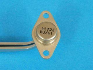 BUX61 NPN transistor TO66