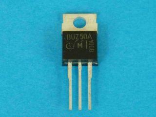 BUZ50A N-channel SIPMOS TO220