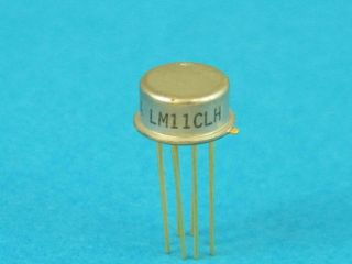 LM11CH PRECISION OPERATIONAL AMPLIFIER DIL8