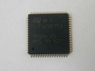 ST72F521R9T3 8 BIT MCU  64TQFP   ST MICROELECTRONICS