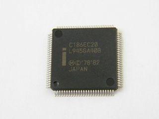 SB80C186EC20 INTEL TQFP100  PROCESSORE 80C186     80C186EC
