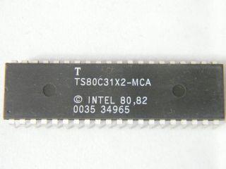 TS80C31X2-MCA -TEMIC MICROCONTROLLER DIP40